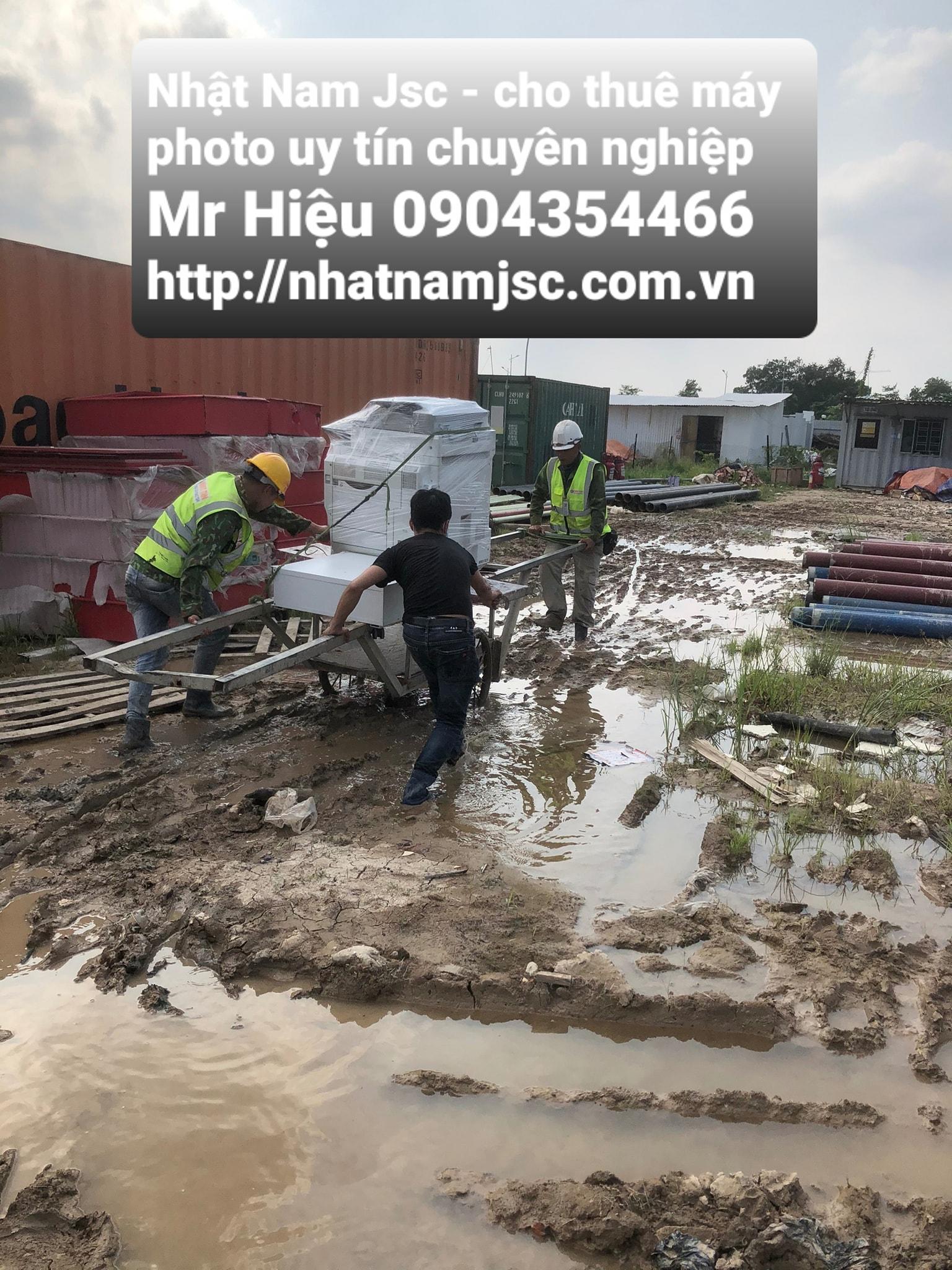 Công trình xây dựng được sự hỗ trợ vận chuyển - Nhật Nam JSC