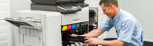 sửa chữa , bảo dưỡng, kiểm tra máy photocopy màu trước khi cho thuê