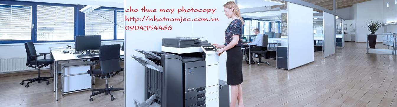 công ty cho thuê máy photocopy uy tín