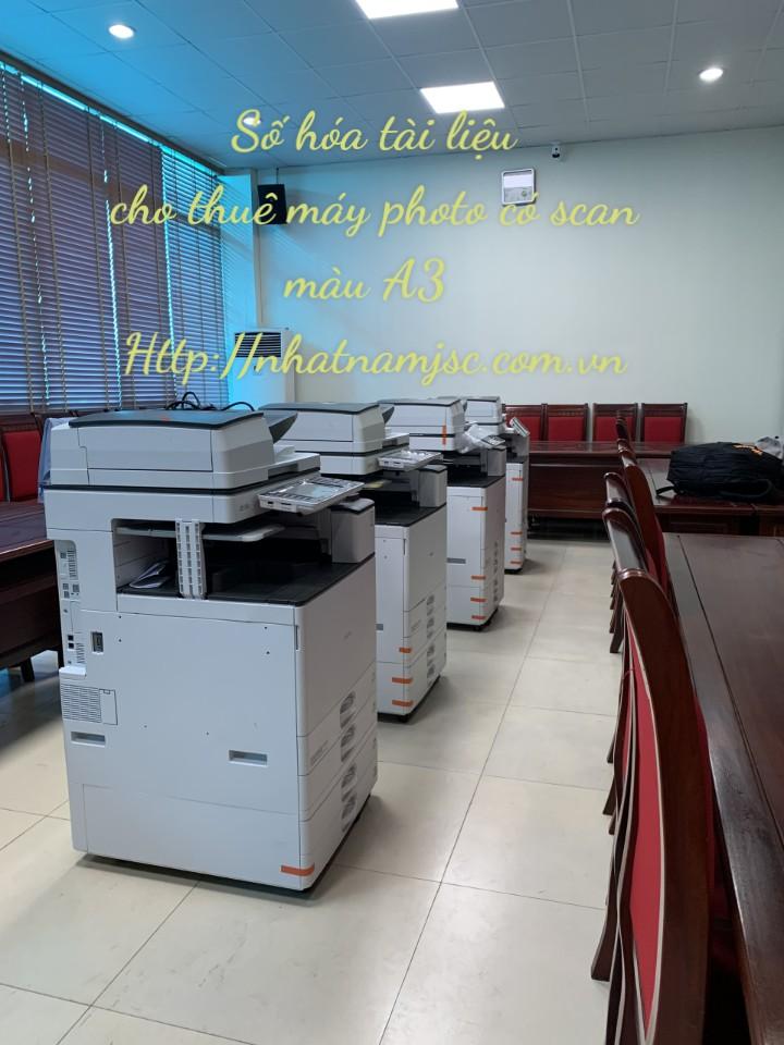 số lượng máy photocopy màu chất lượng cao sẵn sàng lên đường