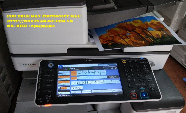 Lựa chọn dịch vụ thuê máy photo màu với dòng máy hình thức đẹp chất lượng cao